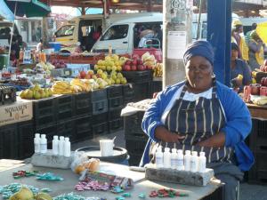 Necessity Entrepreneur in Khayelitsha (Picture: Stefanie Julia Urdang; http://backorhome.blogspot.com/2011_04_01_archive.html)
